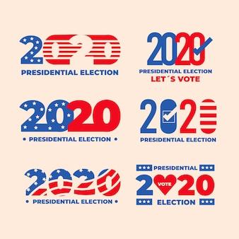 Elecciones presidenciales estadounidenses de 2020 - banners