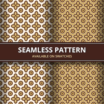 Elegante batik tradicional sin fisuras de fondo. motivo de lujo y clásico para papel tapiz de fondo.