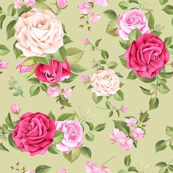 Elegante diseño floral transparente