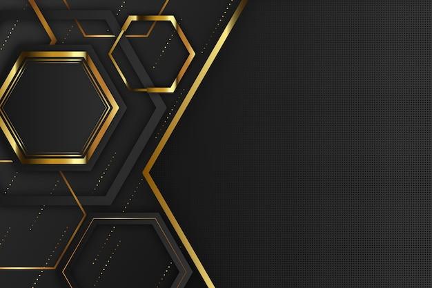 Elegante diseño de formas geométricas de fondo