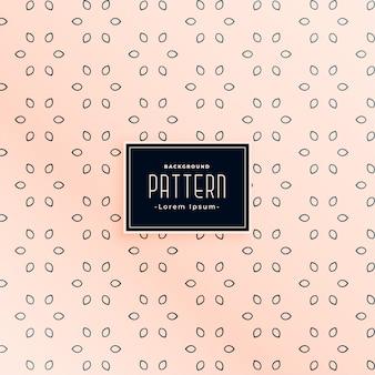 Elegante diseño de patrón de estilo de pétalo de flor pequeña