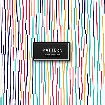 Elegante fondo de patrón de colores creativos