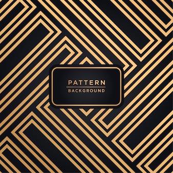 Elegante fondo ornamental en color dorado