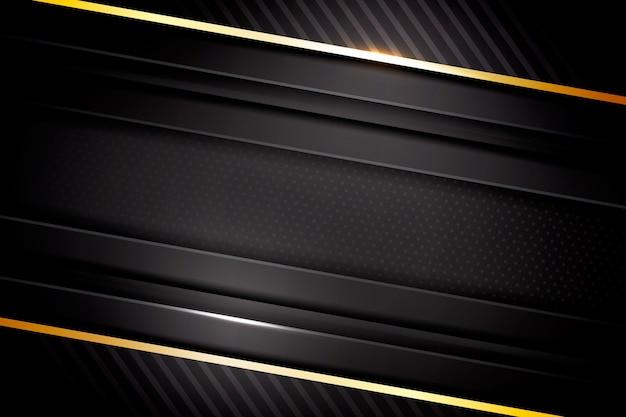 Elegante fondo oscuro con detalles dorados