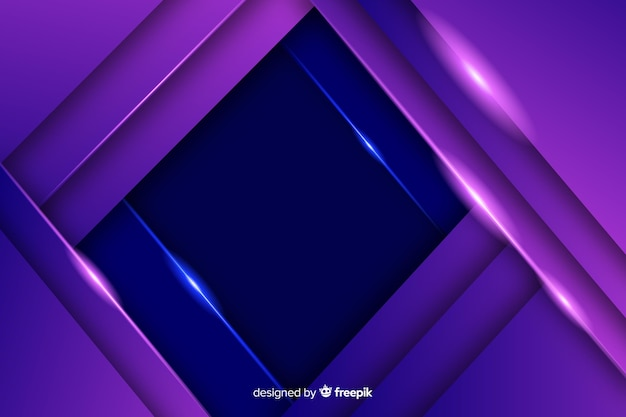 Elegante fondo poligonal oscuro