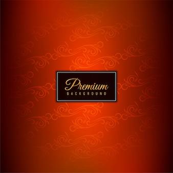 Elegante fondo rojo premium hermoso