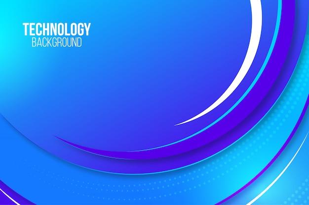 Elegante fondo de tecnología abstracta