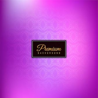 Elegante hermoso fondo púrpura premium