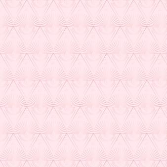 Elegante patrón repetido art deco de oro rosa