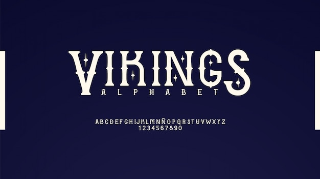Elegante tipografía clásica
