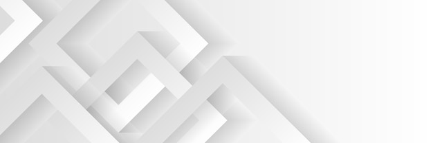 Elemento de brillo y capa de geometría de fondo abstracto blanco gris.