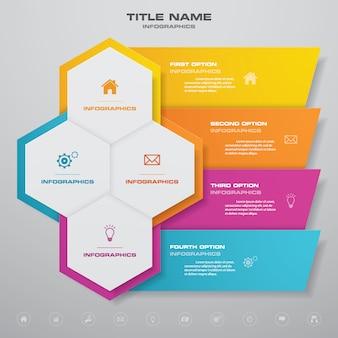 Elemento de diseño gráfico infográfico