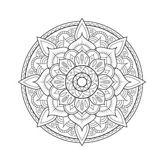 Elemento de diseño de mandala