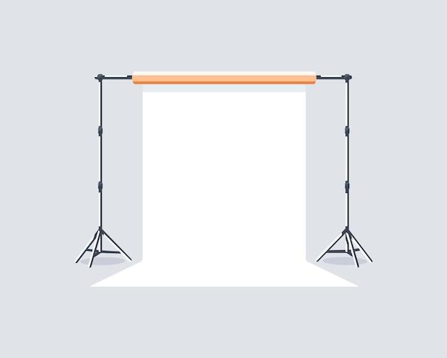 Elemento de estudio fotográfico aislado sobre fondo blanco.