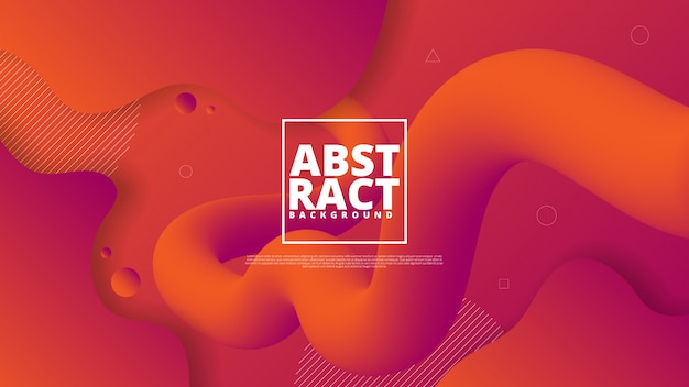 Elemento gráfico moderno abstracto.