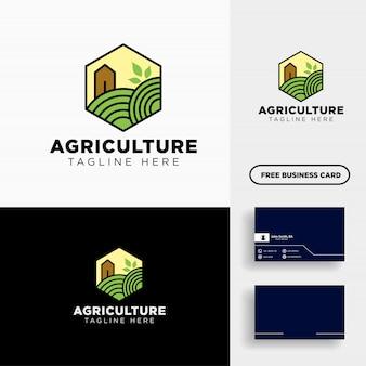 Elemento de icono de plantilla de logotipo de eco línea verde eco línea