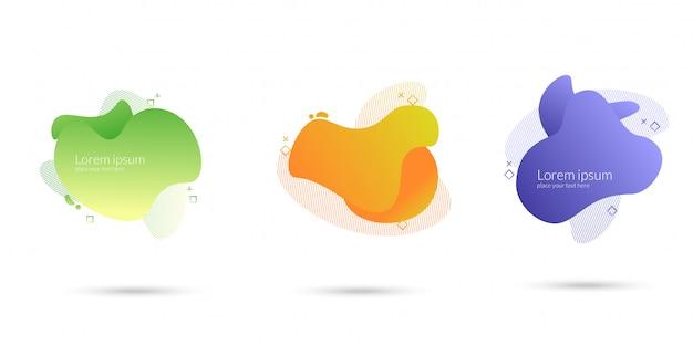 Elemento liquido de onda abstracta