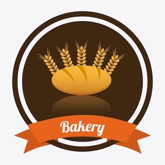 Elemento de panadería simple