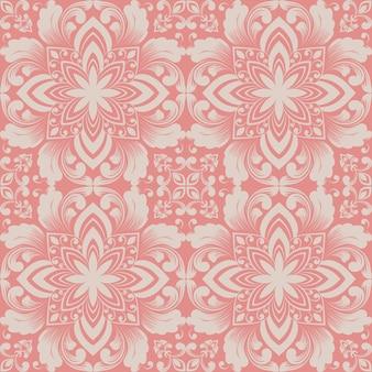 Elemento de patrón de ornamento geométrico de estilo zentangle