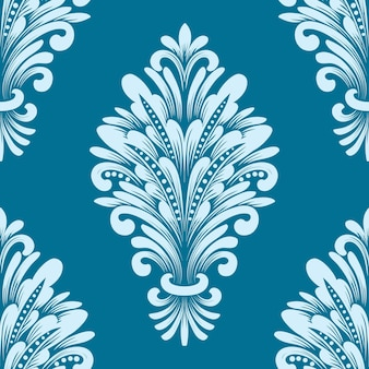 Elemento de patrón transparente de damasco