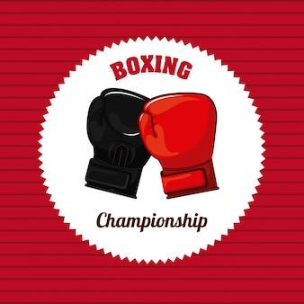 Elemento simple de boxeo
