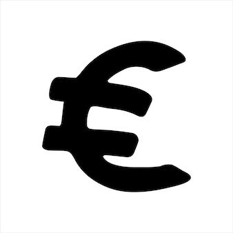 Elemento único de dinero en el conjunto de negocios de doodle. ilustración de vector dibujado a mano para tarjetas, carteles, pegatinas y diseño profesional.