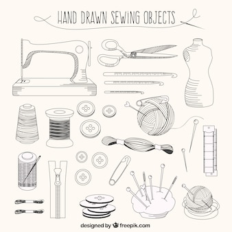 Elementos a medida dibujados a mano