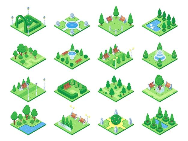 Elementos del bosque de la naturaleza