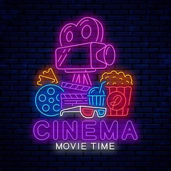 Elementos de cine de neón