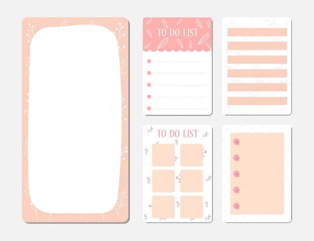 Elementos para cuaderno