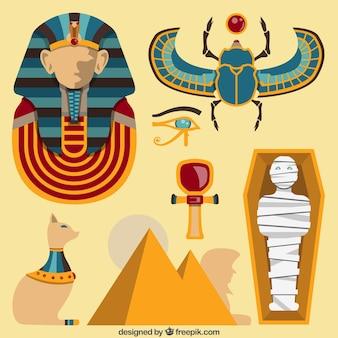 Elementos culturales egipto