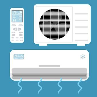 Elementos de aire acondicionado
