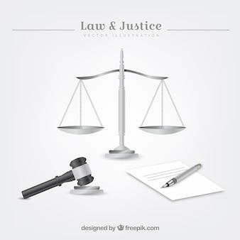 Elementos de ley y justicia