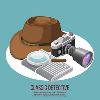 Elementos de detective clásicos