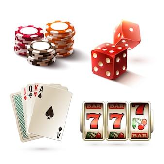 Elementos de diseño de casino