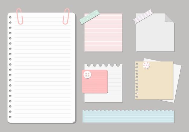Elementos de diseño para notebook