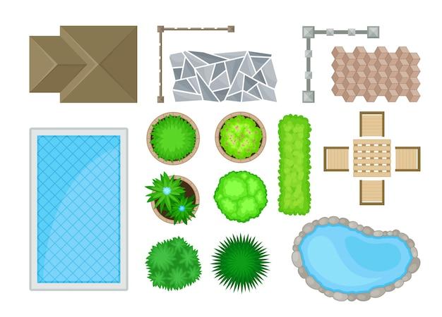 Elementos del diseño del paisaje