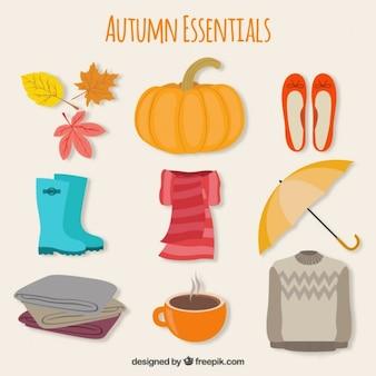 Elementos esenciales de otoño