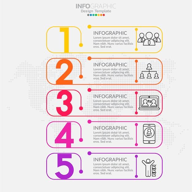Elementos de infografía para contenido, diagrama, diagrama de flujo, pasos, partes, línea de tiempo, flujo de trabajo, gráfico.