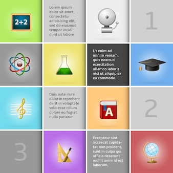Elementos de infografía educativa