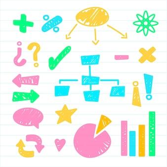 Elementos de infografía escolar