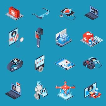 Elementos isométricos de medicina digital