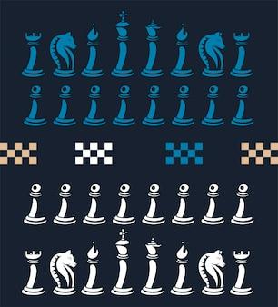 Elementos del juego de ajedrez