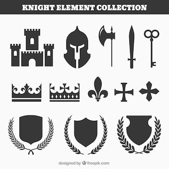 Elementos medievales con estilo moderno