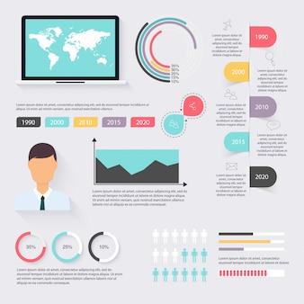 Elementos del mercado de datos comerciales