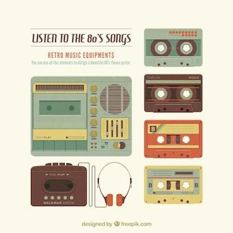 Elementos de música retro