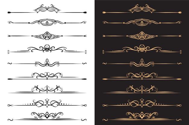 Elementos ornamentales de lujo