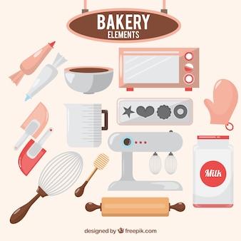 Elementos de panadería
