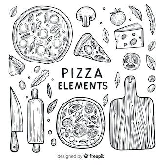 Elementos de la pizza