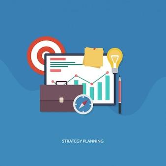 Elementos de planear estrategia